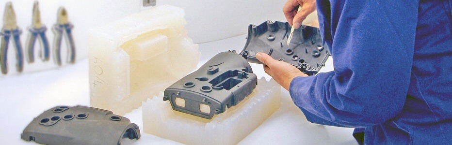 vacuum casting PC part