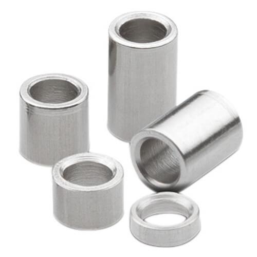 Customized aluminum spacer